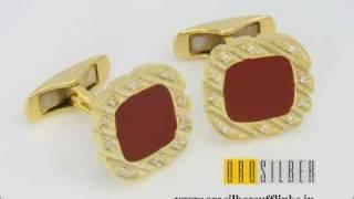 Gold Cufflinks by orosilber Thumbnail