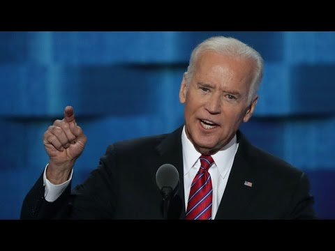Joe Biden Speech At Democratic National Convention 2016. The Young Turks Reaction