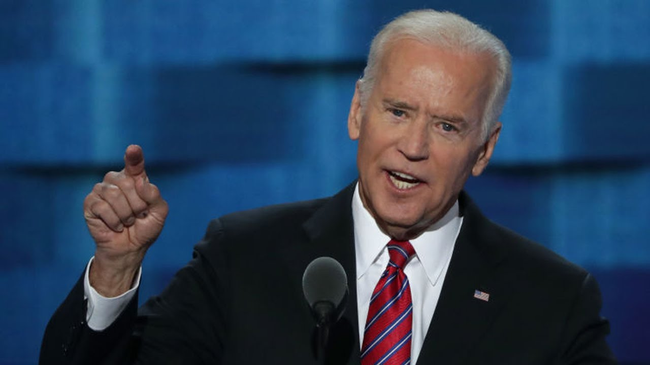 Joe Biden Speech At Democratic National Convention 2016 ...