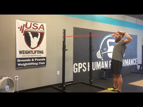 Banded Face Pulls | GPS Human Performance