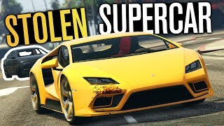 GTA 5 Online - Steal My Supercar!! (16+ Players)