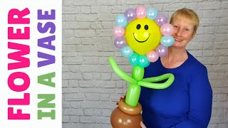 Happy Flower Balloon Tutorial - How to Make a Giant Flower Balloon