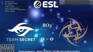 [RU] Team Secret vs. Ninjas in Pyjamas - ESL One Katowice 2019 BO3 @4liver_r