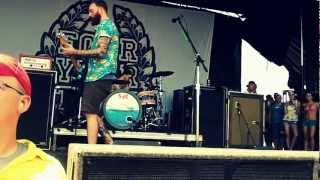 Four Year Strong - Gigawatt? / Heroes @ Warped Tour 2012 (St. Louis) HD