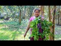 Vegetable Recipe: Malabar Spinach with Black Gram Cooking Recipe in Village | Village Food Factory