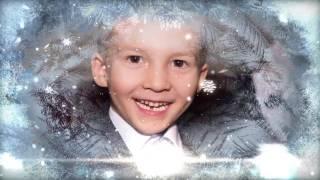 Детское новогоднее слайд-шоу