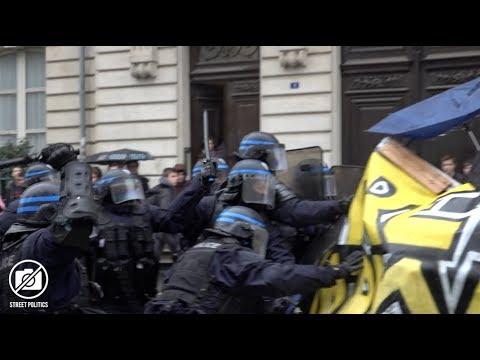 Nantes : blocage de l'université et manif contre la sélection - 14/02/18