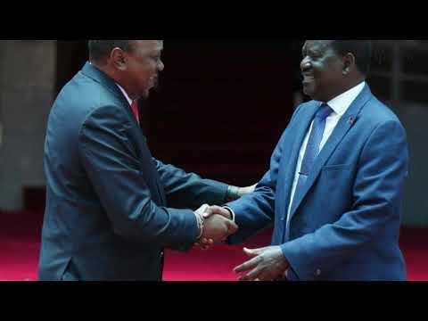 With a handshake, Kenya leaves behind divisive poll
