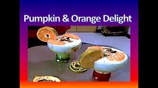 Pumpkin Rice & Orange Delight Dessert