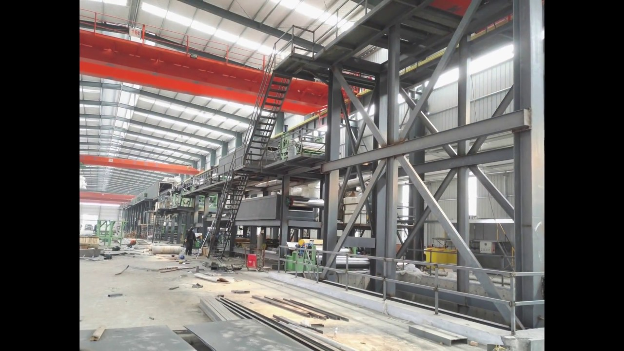 Coil Color Coating Line(Metal Strip Coil Process)