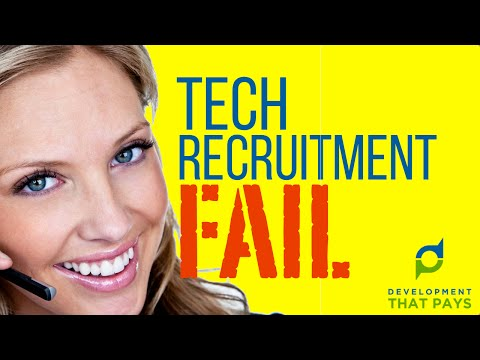 Technical Recruitment FAIL: How to Consign the Best Candidates to the Bin