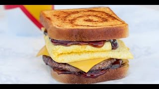 CarBS - Carl's Jr Cinnamon Swirl French Toast Breakfast Sandwich