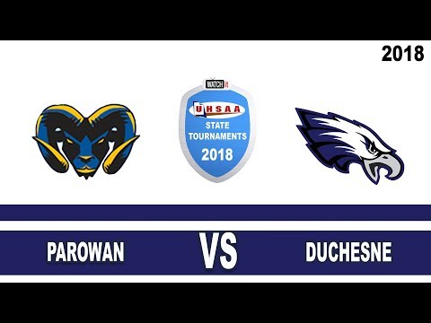 2A Boys Basketball: Parowan vs Duchesne High School UHSAA 2018 State Tournament Semifinals