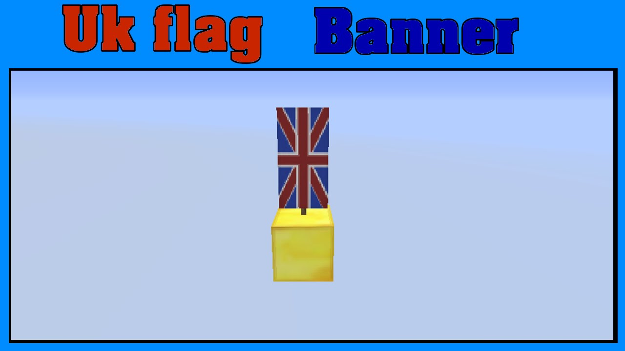 uk flag minecraft
