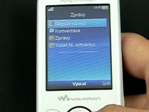 Sony Ericsson Spiro - zprávy a kontakty