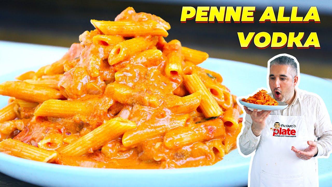 How to Make PENNE ALLA VODKA Like an Italian