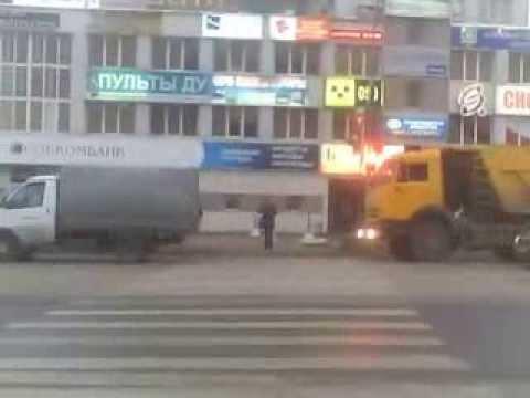 пробка в г  Вологда на ул Ленинградской 2 часть 18,09,2013