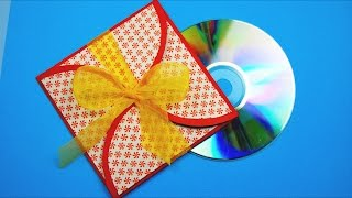 Подарочный Конверт Своими Руками / Gift Wrapping CD / Tutorial / ✿ NataliDoma