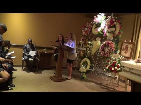 Celebration de la vie de Marie Adrienne Joseph