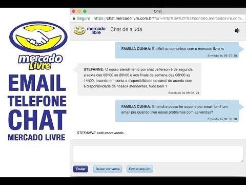Email Suporte Mercado Livre Chat Ao Vivo Ou Email Direto Atualizado 2019