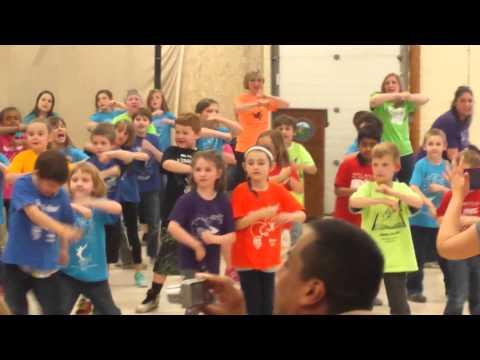 Benjamin Franklin school dance routine