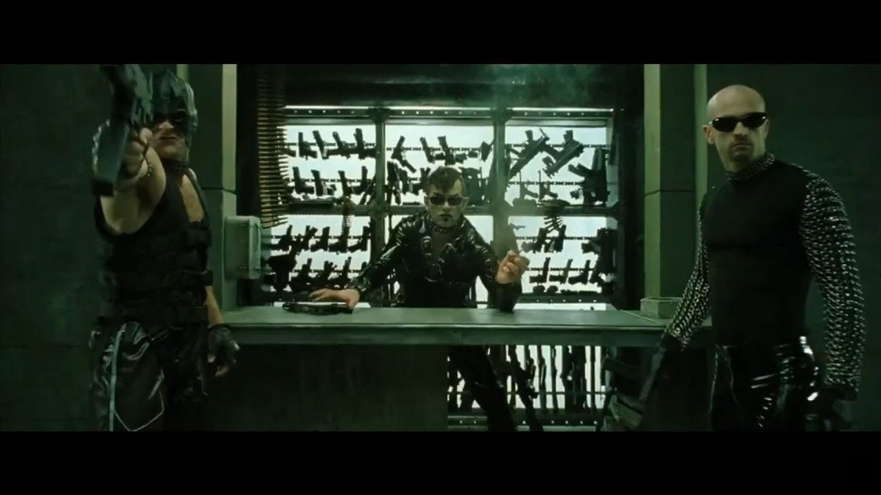The Matrix Revolutions - No Weapons In The Club [HD]