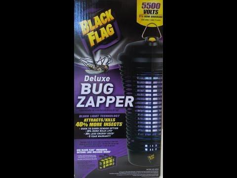 Black Flag Deluxe BUG ZAPPER 1 1/2 Acre