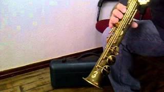 Sax Soprano Suzuki Customizado