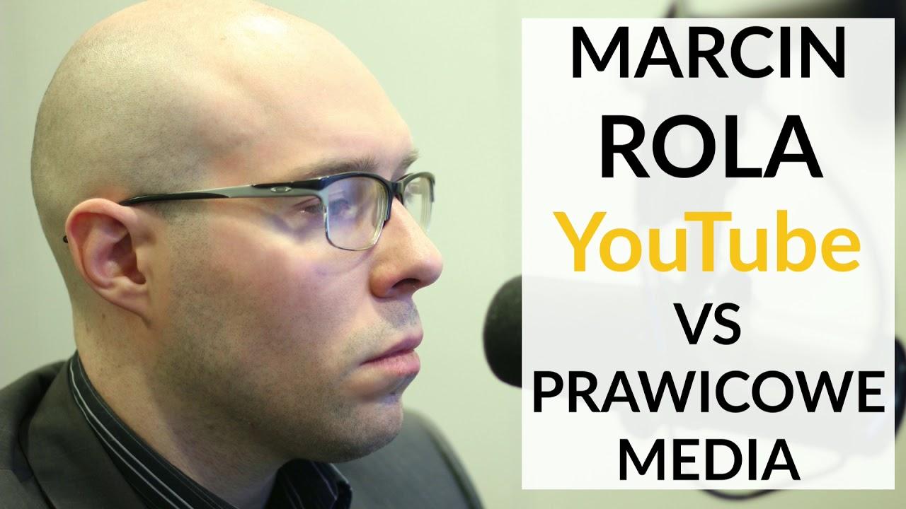 Marcin Rola u Gadowskiego: Mamy absolutną cenzurę na YouTube, Facebooku i Twitterze