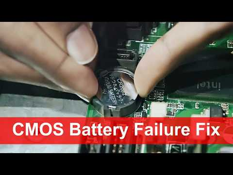 CMOS Battery Failure solutions