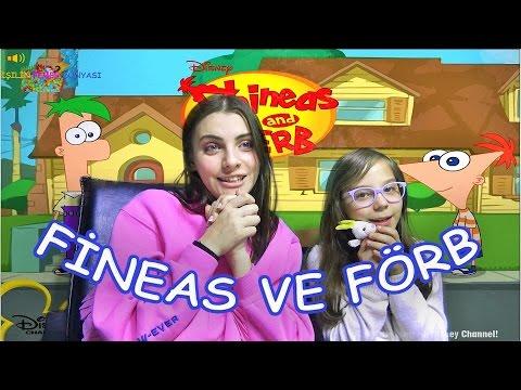 Fineas ve Förb Oynuyoruz - Eğlenceli Oyun Videosu - Funny Games