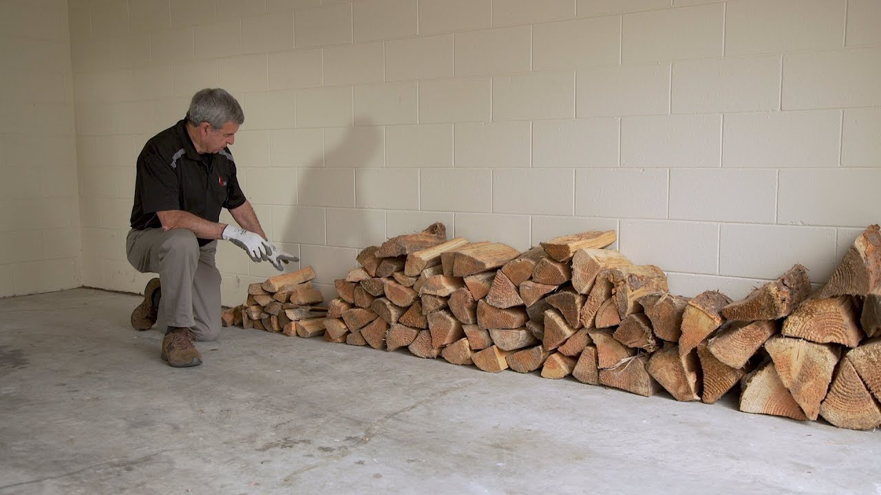How To Stack Firewood Keep It Dry