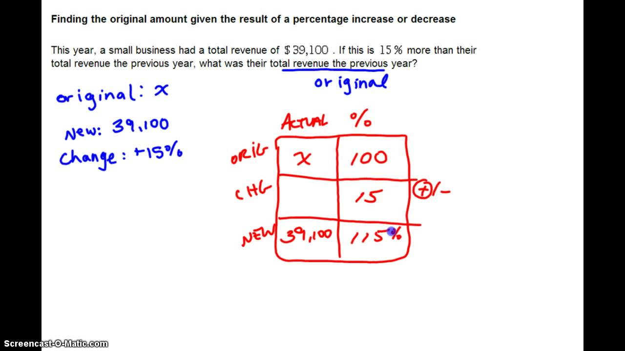 how to add a percentage to a number