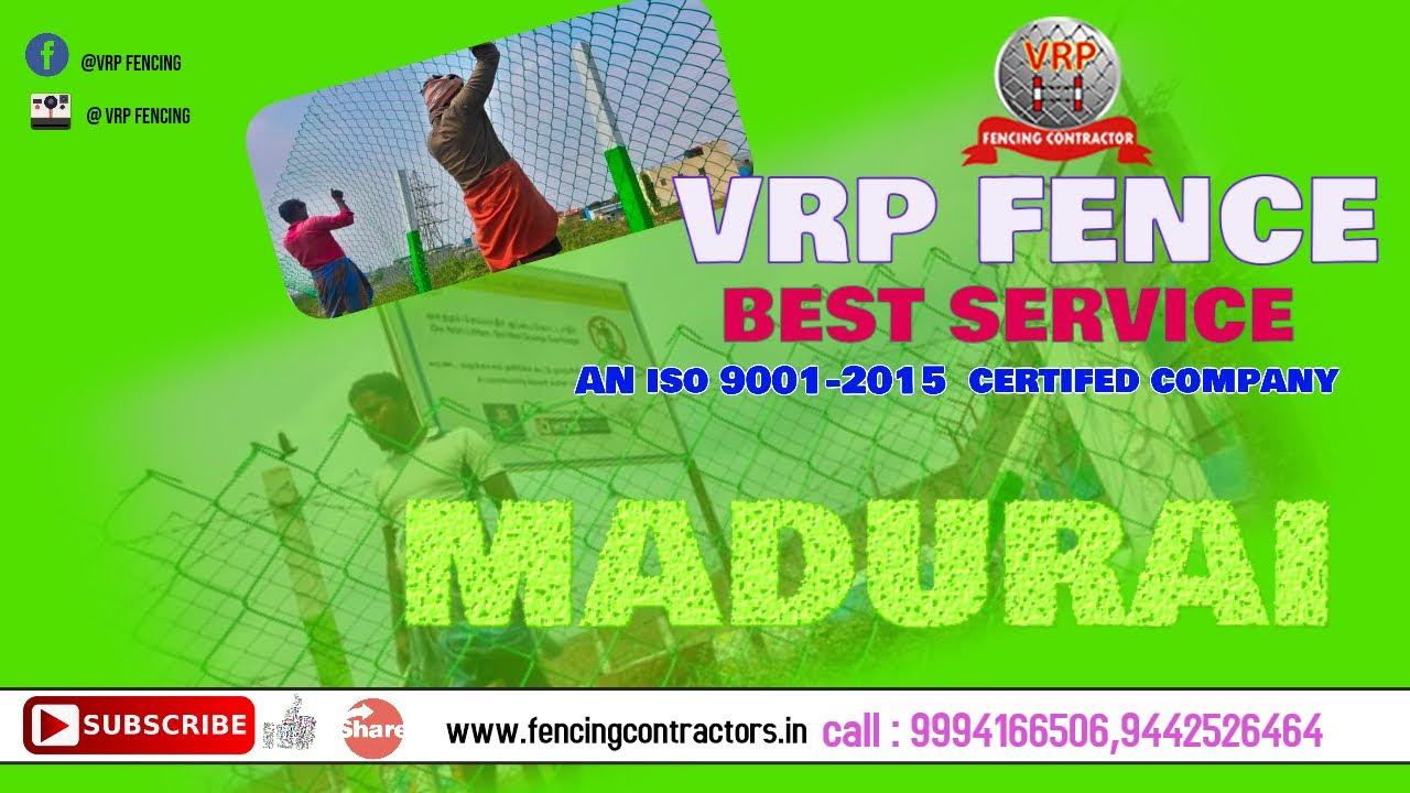 VRP|FENCING CONTRACTORS IN MADURAI 625001 ,TAMILNADU,INDIA - YouTube
