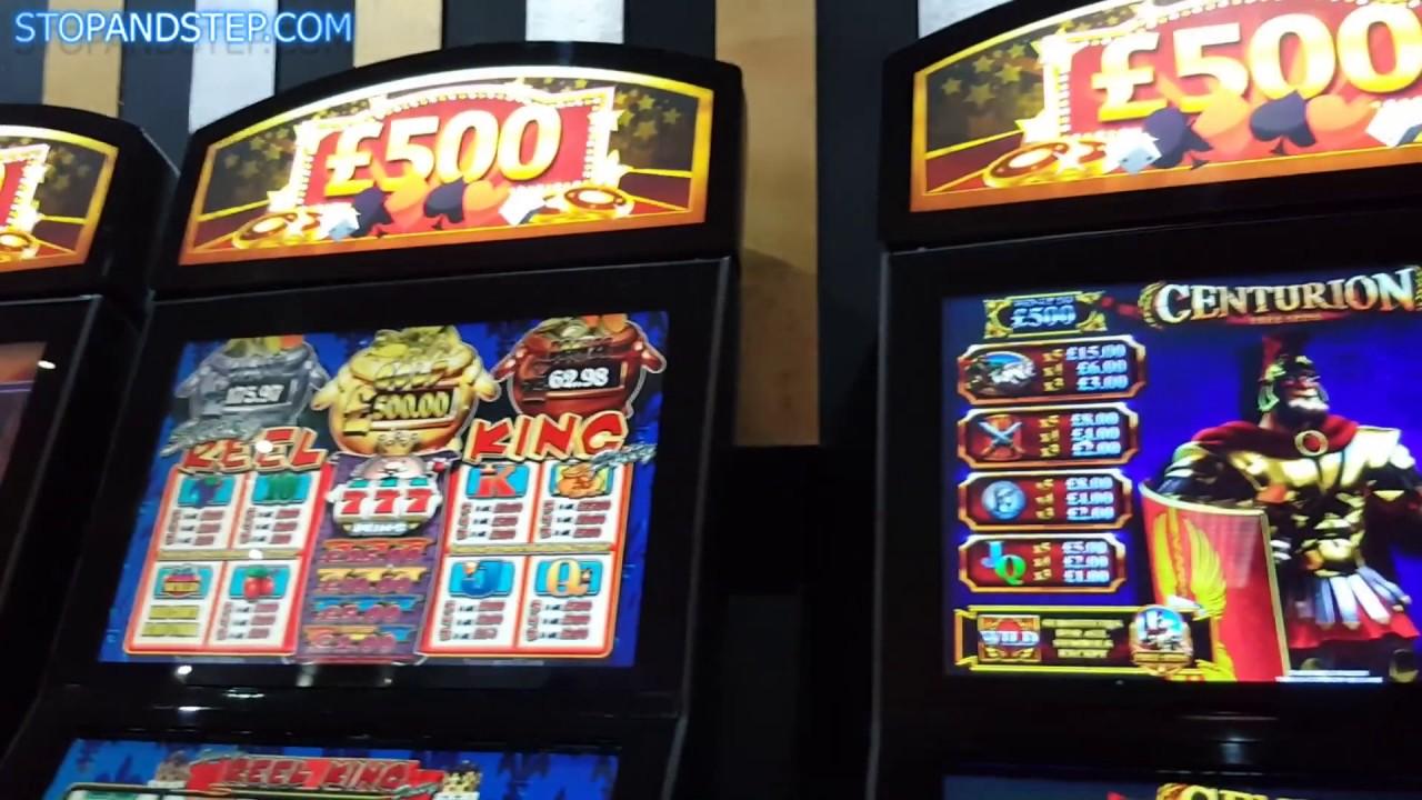 Gambling arcade