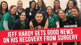 Jeff Hardy Gets Good News On Recovery From Surgery