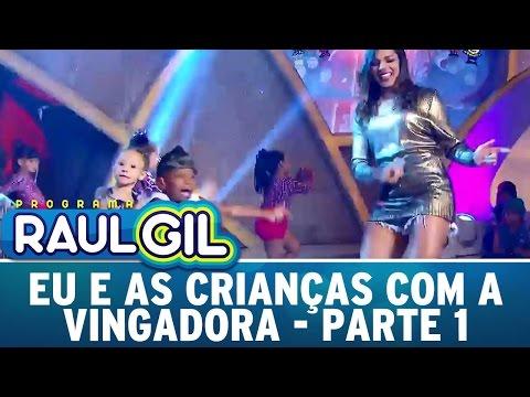 Programa Raul Gil (16/04/16) - Eu E As Crianças - Parte 1