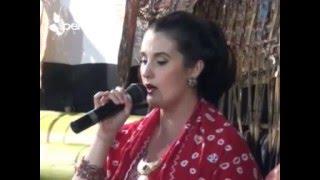 Sinden Bule Megan Luar Biasa, Menyanyikan Lagu Bengawan Solo
