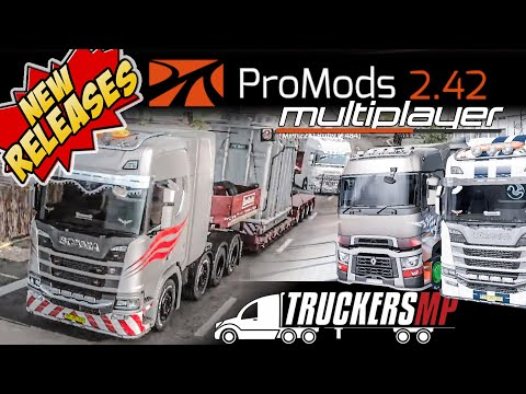 🔴 EXTREME ROADS CONVOY PROMODS 2.42 MULTIPLAYER TRANSFORMAT HEAVY CARGO TRUCKERSMP