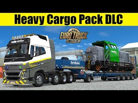 ETS2 - Heavy Cargo Pack DLC - 61t Locomotive Bossloc