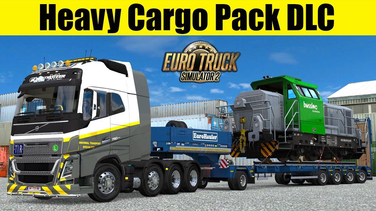 ets2 heavy cargo pack dlc 61t locomotive bossloc youtube. Black Bedroom Furniture Sets. Home Design Ideas