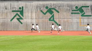 2016-1-13保良局陳守仁小學運動會 -  P6 Boy 4 x 100m Relay