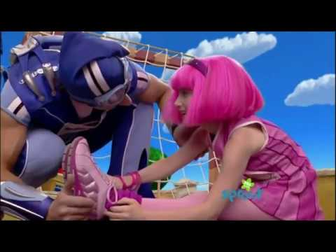 LazyTown - The Cheerleader Stephanie and Sportacus Forever with Chloe Lang