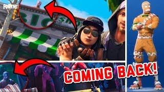 "MERRY MARAUDER OUTFIT IS RETURNING TO FORTNITE! (""Gingerbread Man"" Leaks!) - Fortnite: Battle Royale"