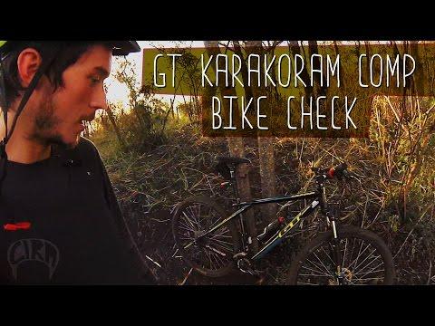 BIKE CHECK - GT KARAKORAM COMP #radcira
