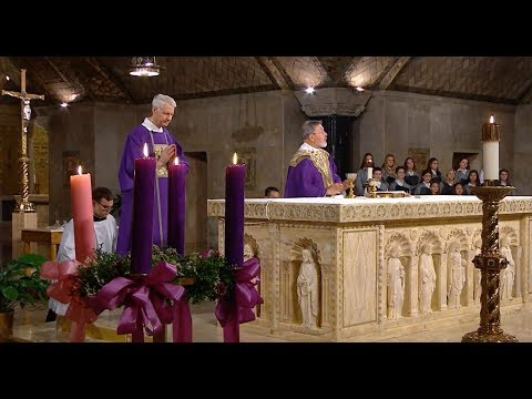 The Sunday Mass - 4th Sunday of Advent - December 23, 2018