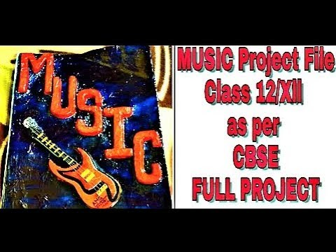 Music project 2016 board file(CBSE)