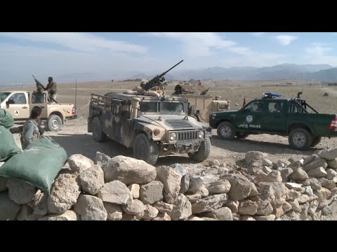 Afghan Army Fights Extremists Near Border with Pakistan