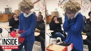 Bullied Teen Gets Sweet Surprise at New High School