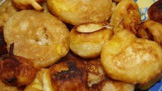 Vlogmas Day 19: Fried Apple Cinnamon Rings